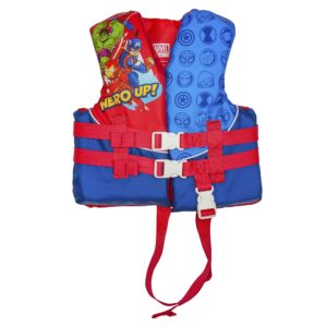 X2O Child Closed Sided Life Vest - Superhero Adventures