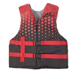 X2O Youth Open Sided Life Vest Red